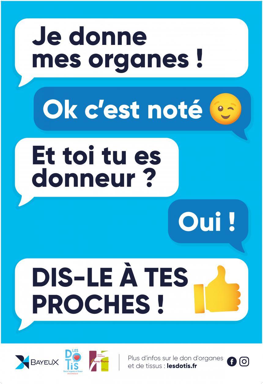 Affiche DOTIS à Bayeux 2021