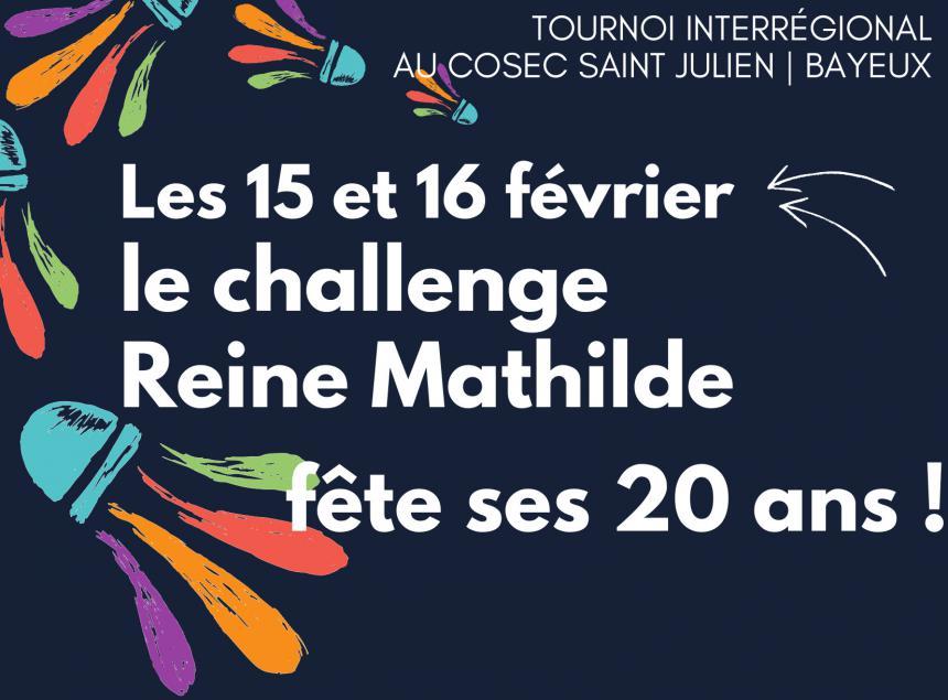 Affiche Challenge Reine Mathilde à Bayeux