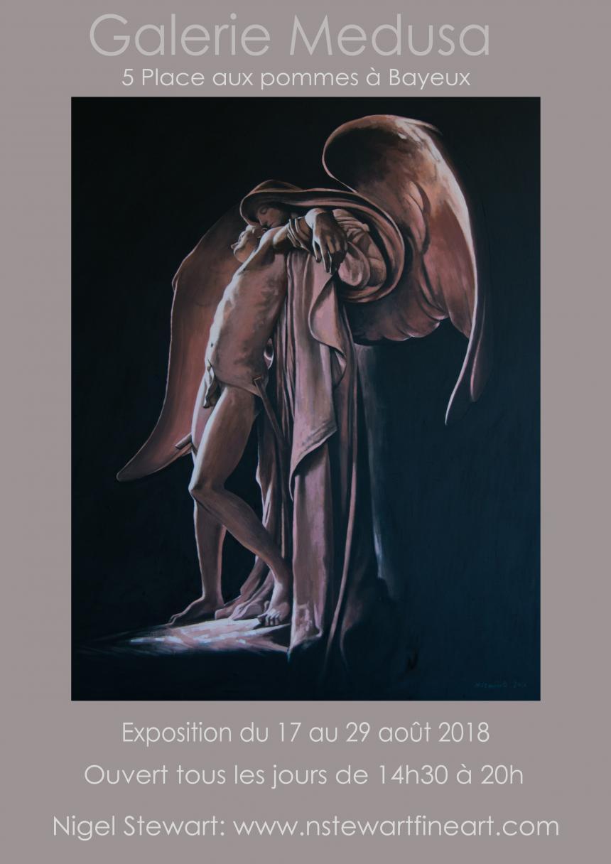 Affiche exposition Nigel Stewart à Bayeux