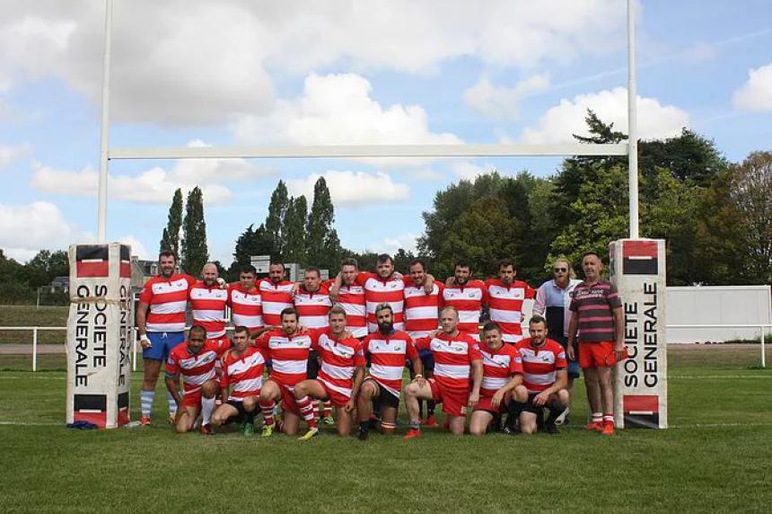 Les seniors du Bayeux Rugby Club
