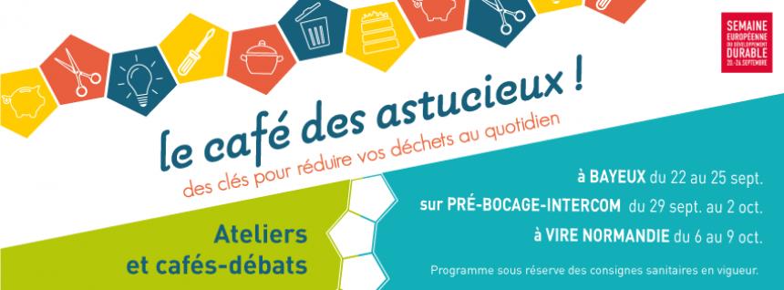 Visuel Le café des astucieux par le SEROC à Bayeux