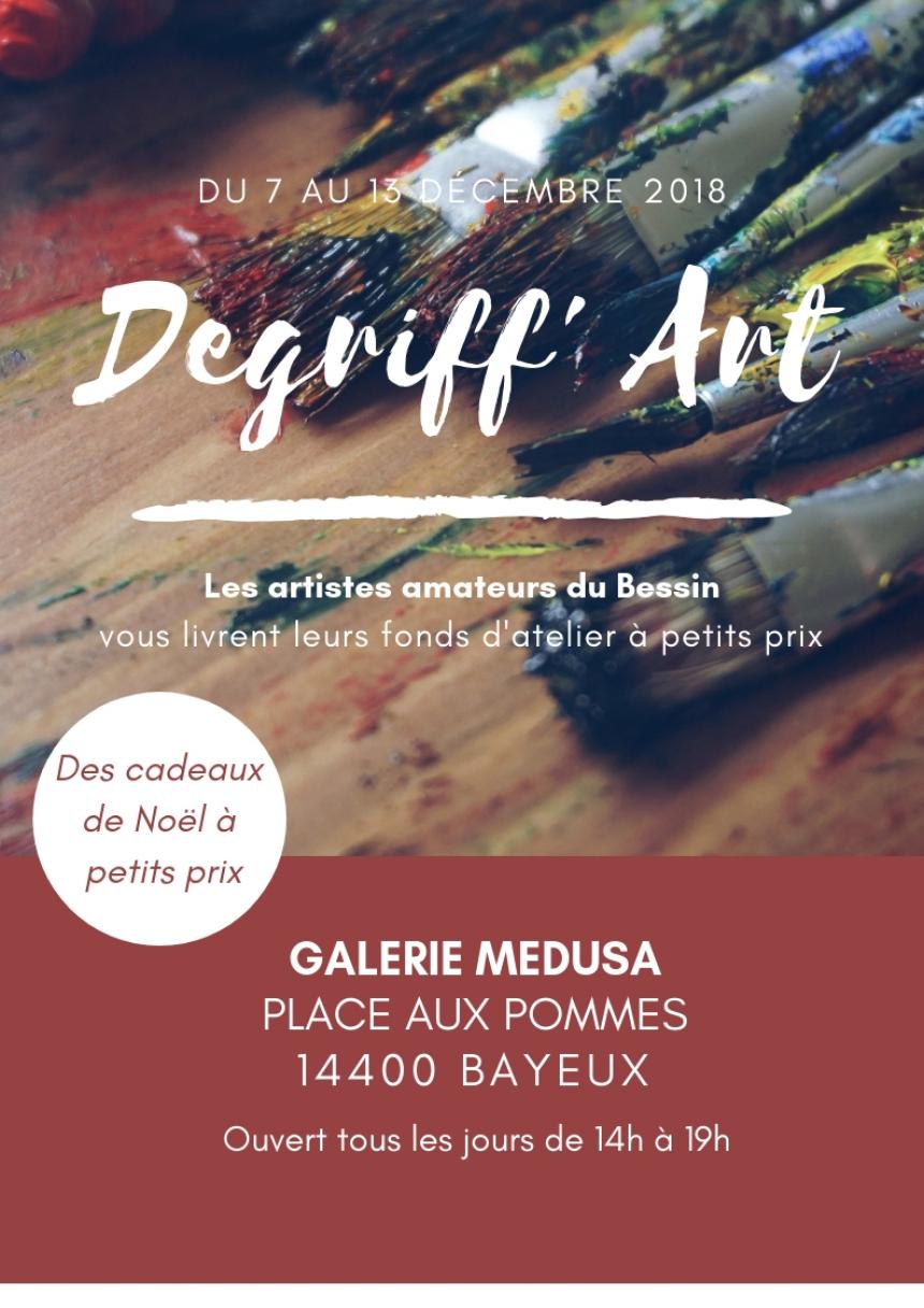 Affiche Degriff'Art à Bayeux