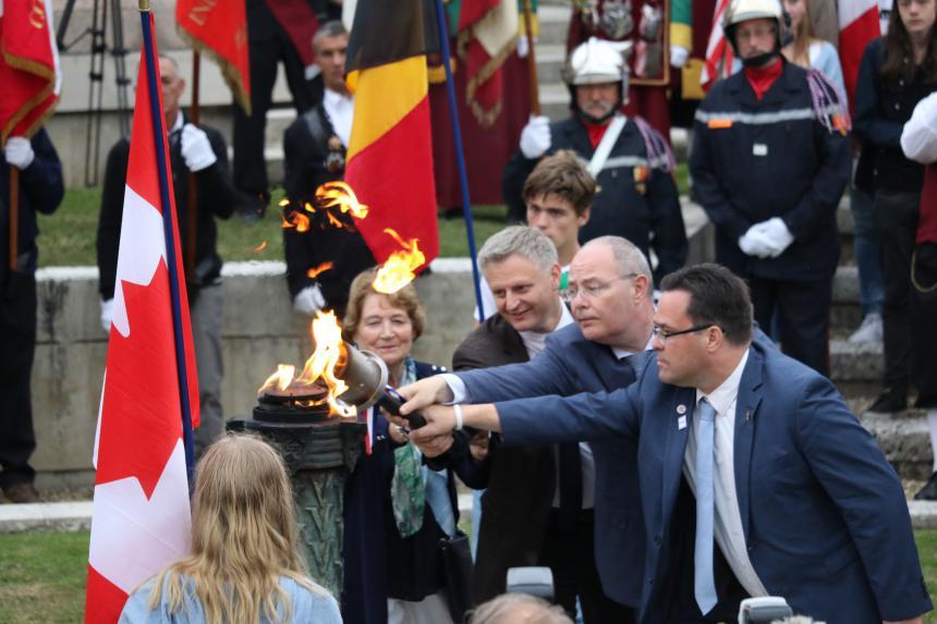 Fêtes franco-hollandaises à Bayeux en 2019