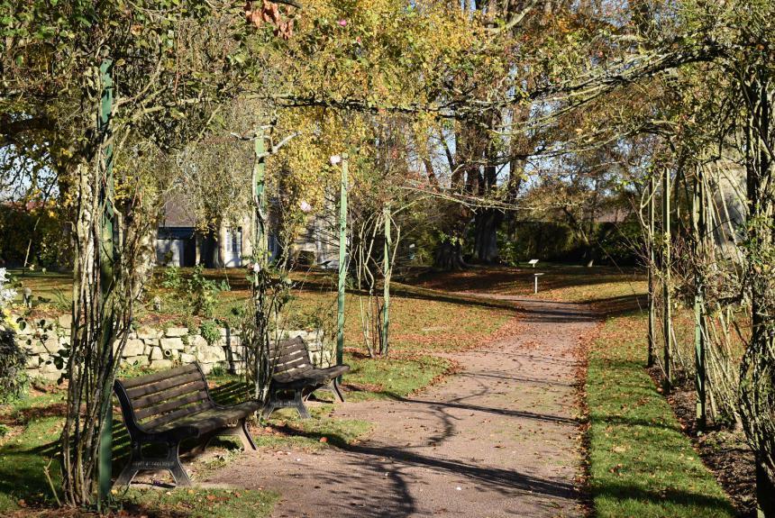 Jardin botanique à Bayeux