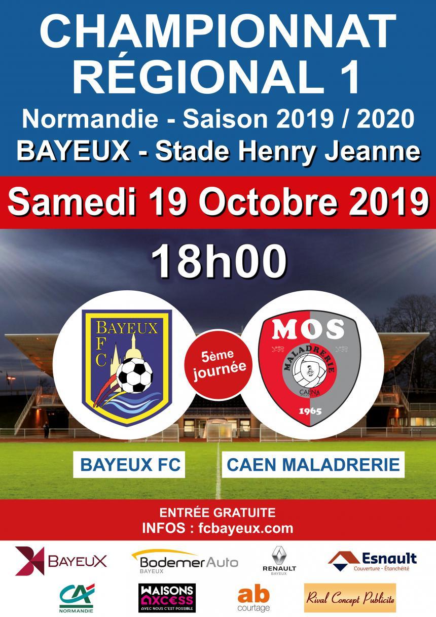 Match Bayeux - Caen Maladrerie