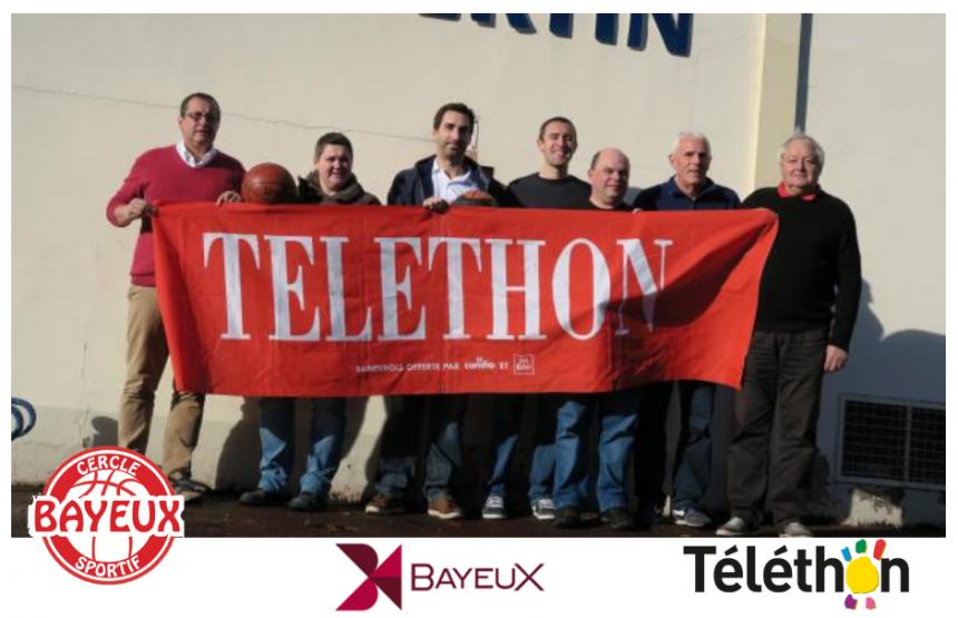 Le CSB Bayeux s'investit pour le Téléthon 2018