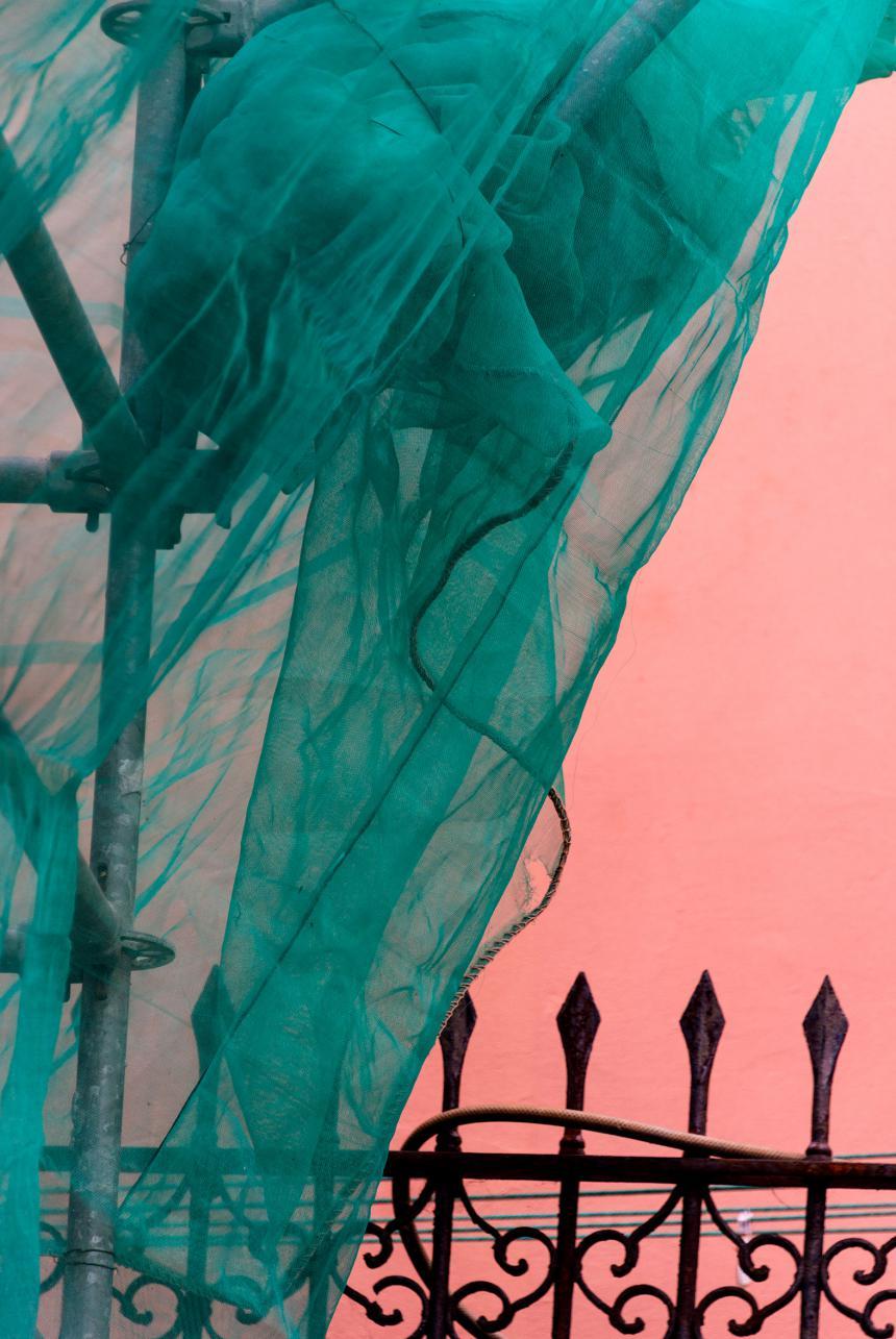 Bayeux ville échaufaudée © Benoit Lechartier